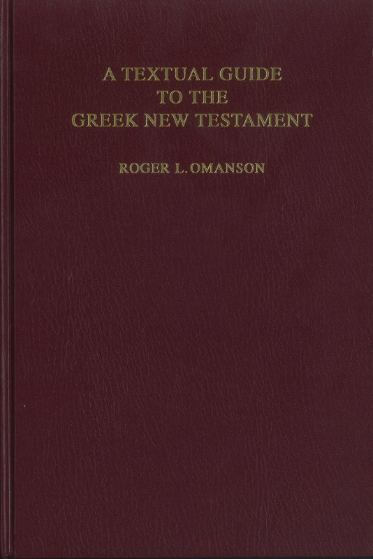 Textual Guide to the Greek New Testament